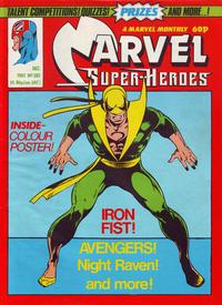 Cover Thumbnail for Marvel Superheroes [Marvel Super-Heroes] (Marvel UK, 1979 series) #392
