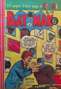 Cover Thumbnail for Batman (K. G. Murray, 1950 series) #79