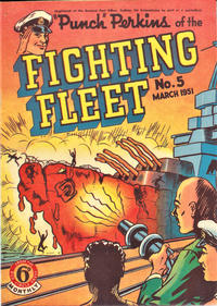 """Cover Thumbnail for """"Punch"""" Perkins of the Fighting Fleet (Magazine Management, 1950 series) #5"""
