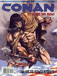 Cover Thumbnail for Conan album (Bladkompaniet / Schibsted, 1992 series) #45 - En drøm om blod!