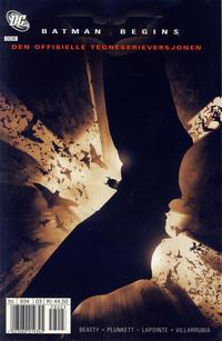 Cover Thumbnail for Batman Begins [Batman filmspesial] (Hjemmet / Egmont, 2005 series)