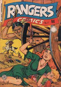 Cover Thumbnail for Rangers Comics (H. John Edwards, 1950 ? series) #17