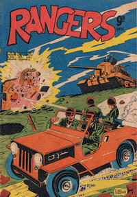 Cover Thumbnail for Rangers Comics (H. John Edwards, 1950 ? series) #51