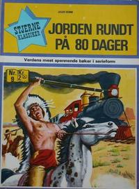 Cover Thumbnail for Stjerneklassiker (Illustrerte Klassikere / Williams Forlag, 1969 series) #9 - Jorden rundt på 80 dager