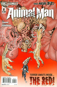 Cover Thumbnail for Animal Man (DC, 2011 series) #2 [2nd Printing]