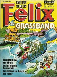 Cover Thumbnail for Felix-Grossband (Bastei Verlag, 1973 series) #34