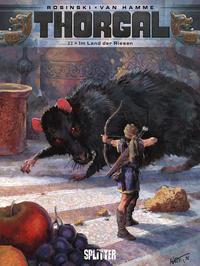 Cover Thumbnail for Thorgal (Splitter Verlag, 2011 series) #22 - Im Land der Riesen