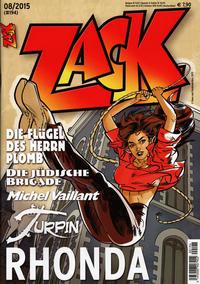 Cover Thumbnail for Zack (Mosaik Steinchen für Steinchen Verlag, 1999 series) #8/2015 (#194)