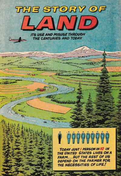 Cover for The Story of Land Its Use and Misuse Through the Centuries (Soil Conservation Society of America, 1952 series) #1979