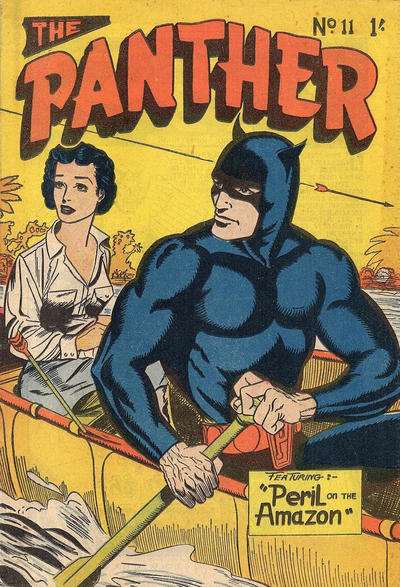 Cover for Paul Wheelahan's The Panther (Young's Merchandising Company, 1957 series) #11