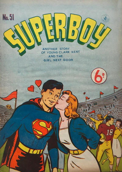 Cover for Superboy (K. G. Murray, 1949 series) #51