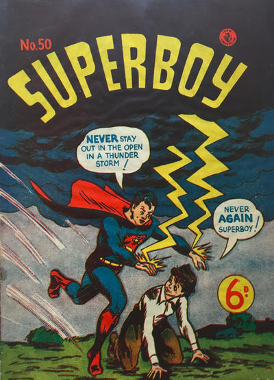 Cover for Superboy (K. G. Murray, 1949 series) #50