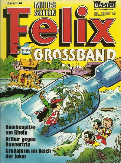 Cover for Felix-Grossband (Bastei Verlag, 1973 series) #34