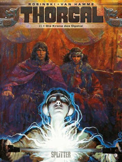 Cover for Thorgal (Splitter Verlag, 2011 series) #21 - Die Krone des Ogotai