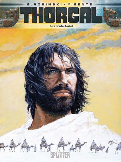 Cover for Thorgal (Splitter Verlag, 2011 series) #34 - Kah-Aniel
