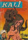 Cover for Kali (Jeunesse et vacances, 1966 series) #33