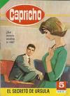 Cover for Capricho (Editorial Bruguera, 1963 ? series) #12