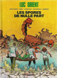 Cover Thumbnail for Luc Orient (Le Lombard, 1969 series) #17 - Les spores de nulle part