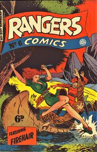 Cover Thumbnail for Rangers Comics (H. John Edwards, 1950 ? series) #6