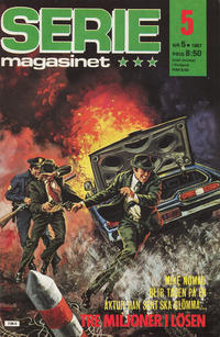 Cover Thumbnail for Seriemagasinet (Semic, 1970 series) #5/1987