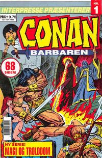 Cover Thumbnail for Conan, Barbaren (Semic Interpresse, 1993 series) #1
