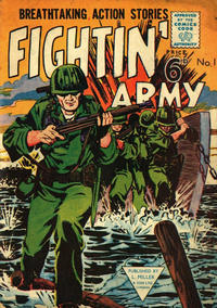 Cover Thumbnail for Fightin' Army (L. Miller & Son, 1950 ? series) #1