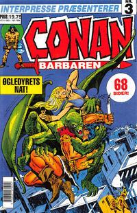 Cover Thumbnail for Conan, Barbaren (Semic Interpresse, 1993 series) #3