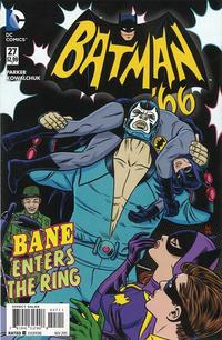 Cover Thumbnail for Batman '66 (DC, 2013 series) #27