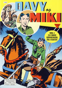 Cover Thumbnail for Davy og Miki (Hjemmet / Egmont, 2014 series) #4