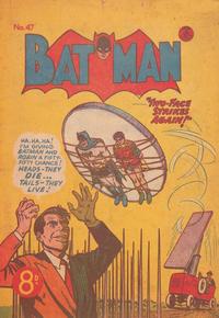 Cover Thumbnail for Batman (K. G. Murray, 1950 series) #47
