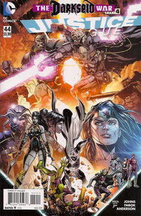 Cover Thumbnail for Justice League (DC, 2011 series) #44 [Direct Sales]