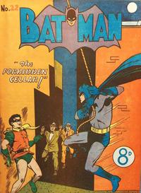 Cover Thumbnail for Batman (K. G. Murray, 1950 series) #22