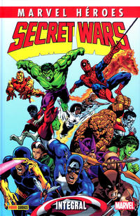 Cover Thumbnail for Marvel Héroes (Panini España, 2012 series) #64 - Secret Wars: Integral