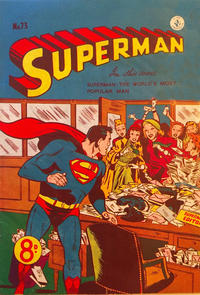 Cover Thumbnail for Superman (K. G. Murray, 1947 series) #73