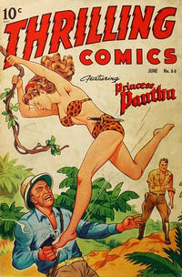 Cover Thumbnail for Thrilling Comics (Better Publications of Canada, 1948 series) #66