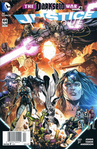 Cover Thumbnail for Justice League (DC, 2011 series) #44 [Newsstand]