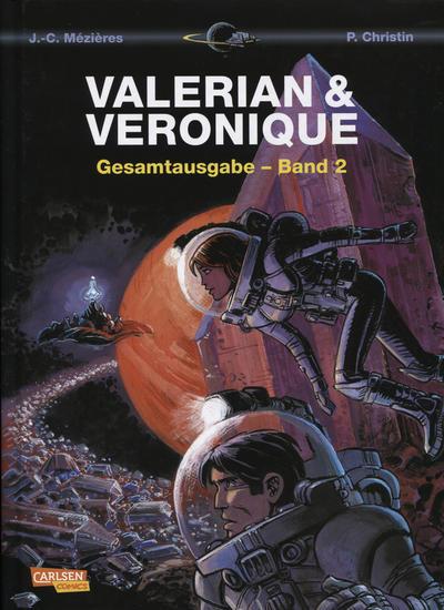 Cover for Valerian & Veronique Gesamtausgabe (Carlsen Comics [DE], 2010 series) #2