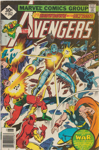 Cover for The Avengers (Marvel, 1963 series) #162 [30¢ Cover Price]