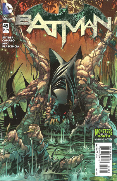 Cover for Batman (DC, 2011 series) #45 [Monsters of the Month Cover]