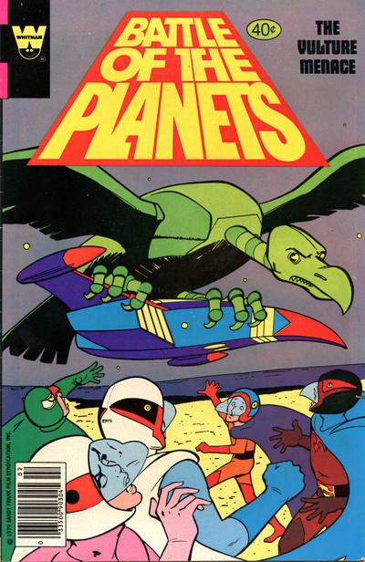Cover for Battle of the Planets (Western, 1979 series) #5 [Gold Key Variant]