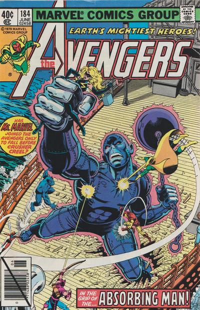 Cover for The Avengers (Marvel, 1963 series) #184 [Direct Edition]