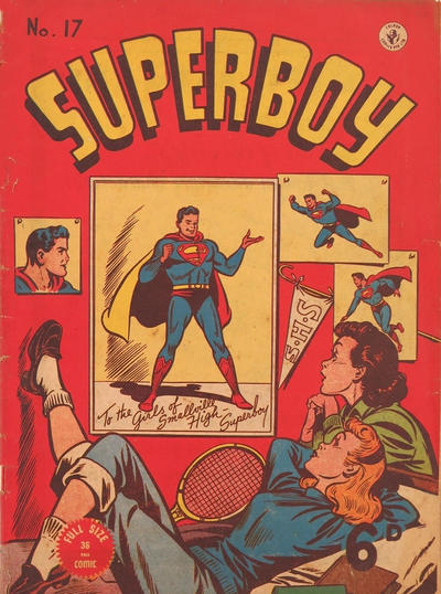 Cover for Superboy (K. G. Murray, 1949 series) #17
