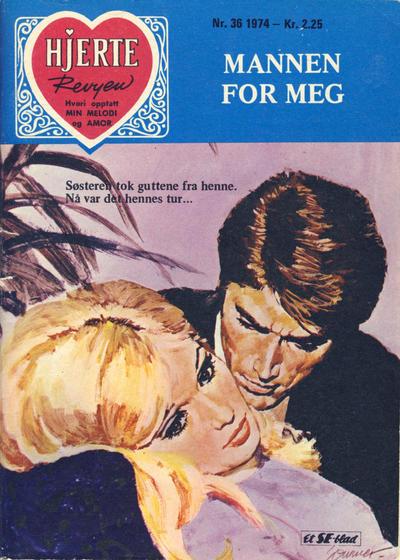 Cover for Hjerterevyen (Serieforlaget / Se-Bladene / Stabenfeldt, 1960 series) #36/1974