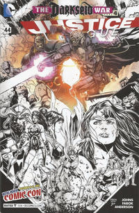 Cover Thumbnail for Justice League (DC, 2011 series) #44 [New York Comic Con Variant]