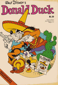 Cover Thumbnail for Donald Duck (Oberon, 1972 series) #39/1974