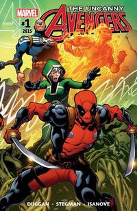 Cover Thumbnail for Uncanny Avengers (Marvel, 2015 series) #1
