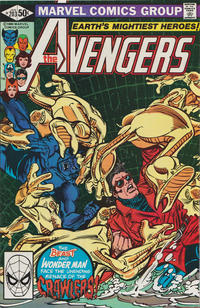 Cover Thumbnail for The Avengers (Marvel, 1963 series) #203 [Direct Edition]
