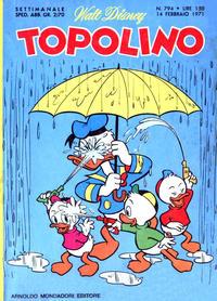 Cover Thumbnail for Topolino (Arnoldo Mondadori Editore, 1949 series) #794