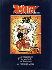 Cover Thumbnail for Asterix (Hjemmet / Egmont, 1981 series) #5 [Vanlig utgave]