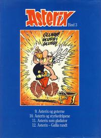 Cover Thumbnail for Asterix (Hjemmet / Egmont, 1981 series) #3 [Vanlig utgave]